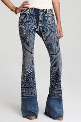 Free People Flared Jeans - Lyst