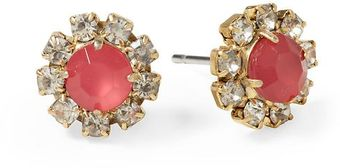 Juicy Couture Cluster Stud Earring - Lyst