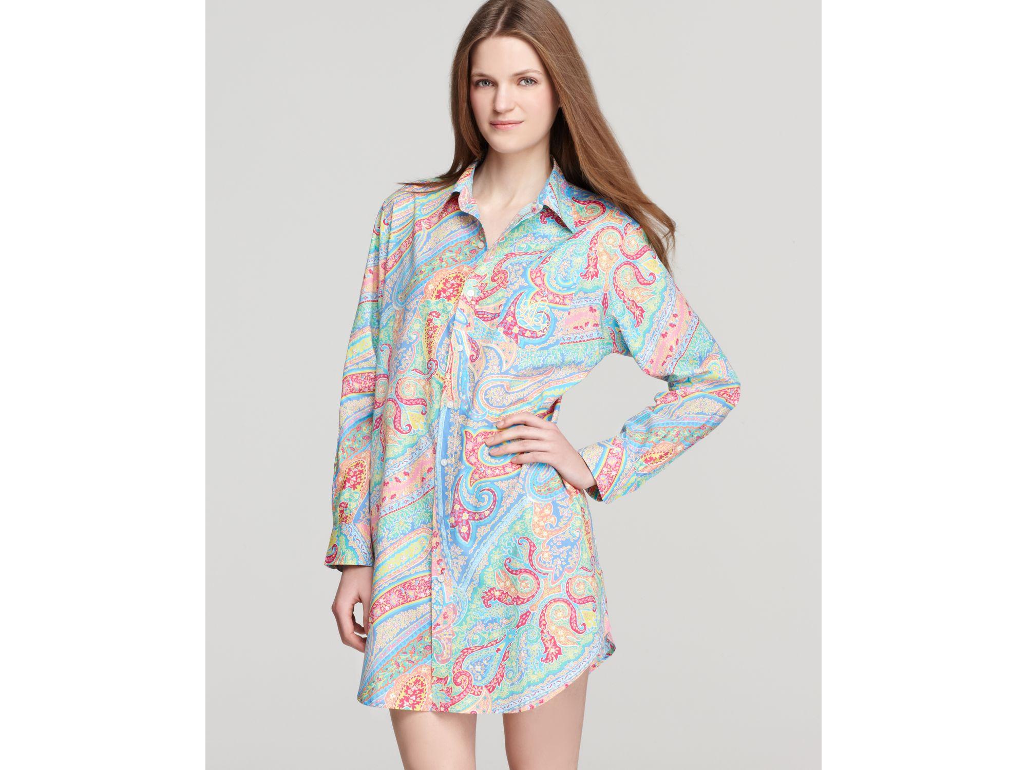 ralph lauren cotton sleep shirt - WörterSee Public Relations 894e7587b