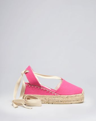 Ralph Lauren Collection Espadrille Wedges Uma - Lyst