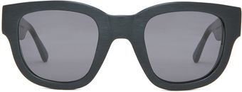 Acne Sunglasses in Black - Lyst