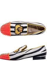 Christian Louboutin Harvanana Zebra Ponyskin Loafer in Multicolor for Men (zebra) - Lyst