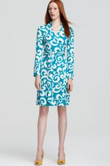 Diane Von Furstenberg Dress With Two Wrap - Lyst