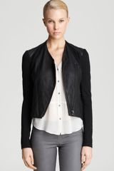 Helmut Lang Leather Jacket Washed - Lyst