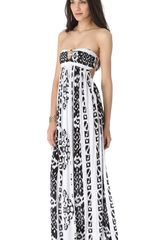 Indah Flamingo Maxi Dress - Lyst