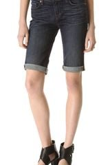 J Brand Low Rise Cuffed Shorts