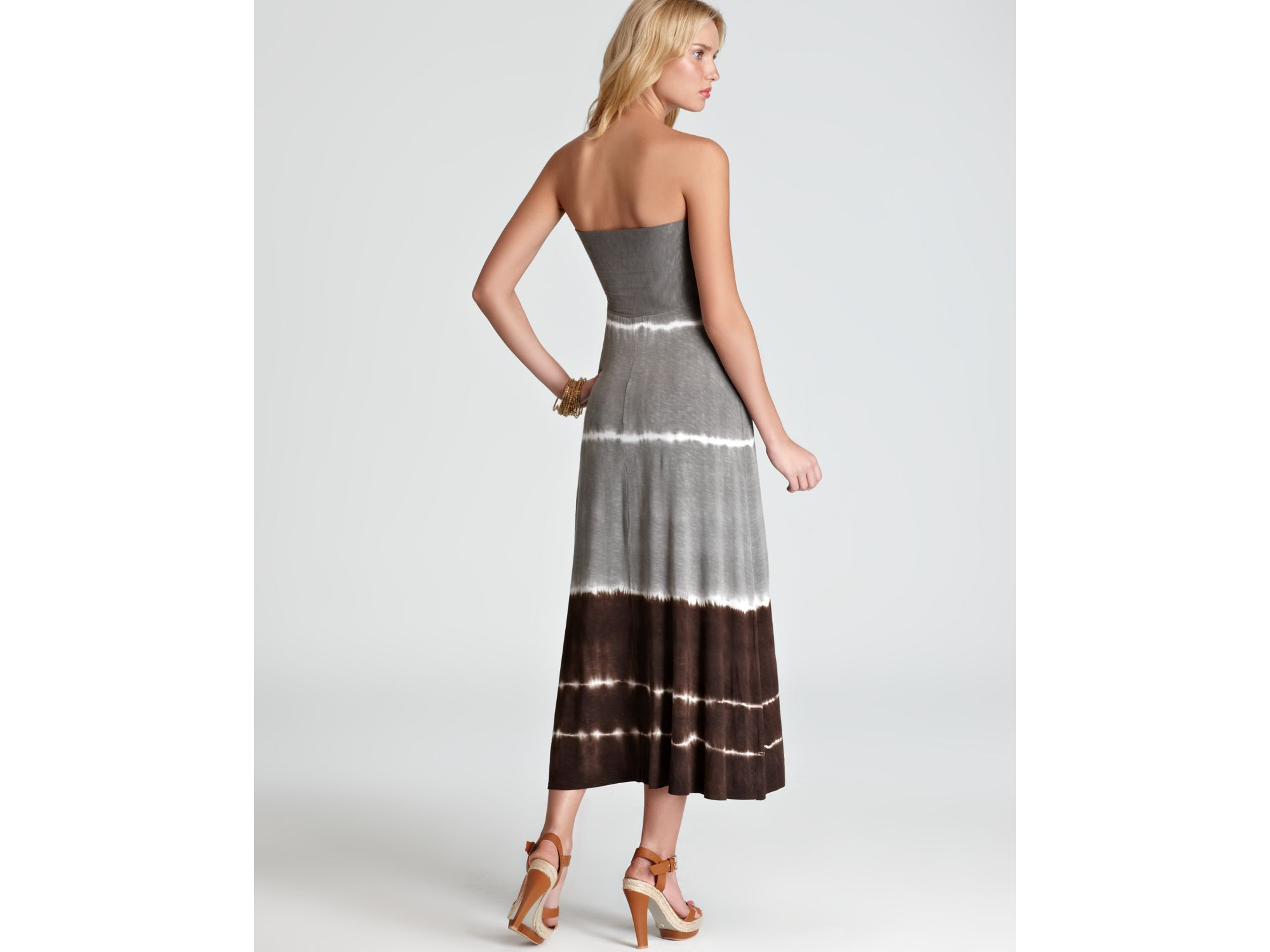 e7a8f10fbd Lyst - Lucky Brand Summer Lovin Convertible Tube Dress Swim Cover Up ...