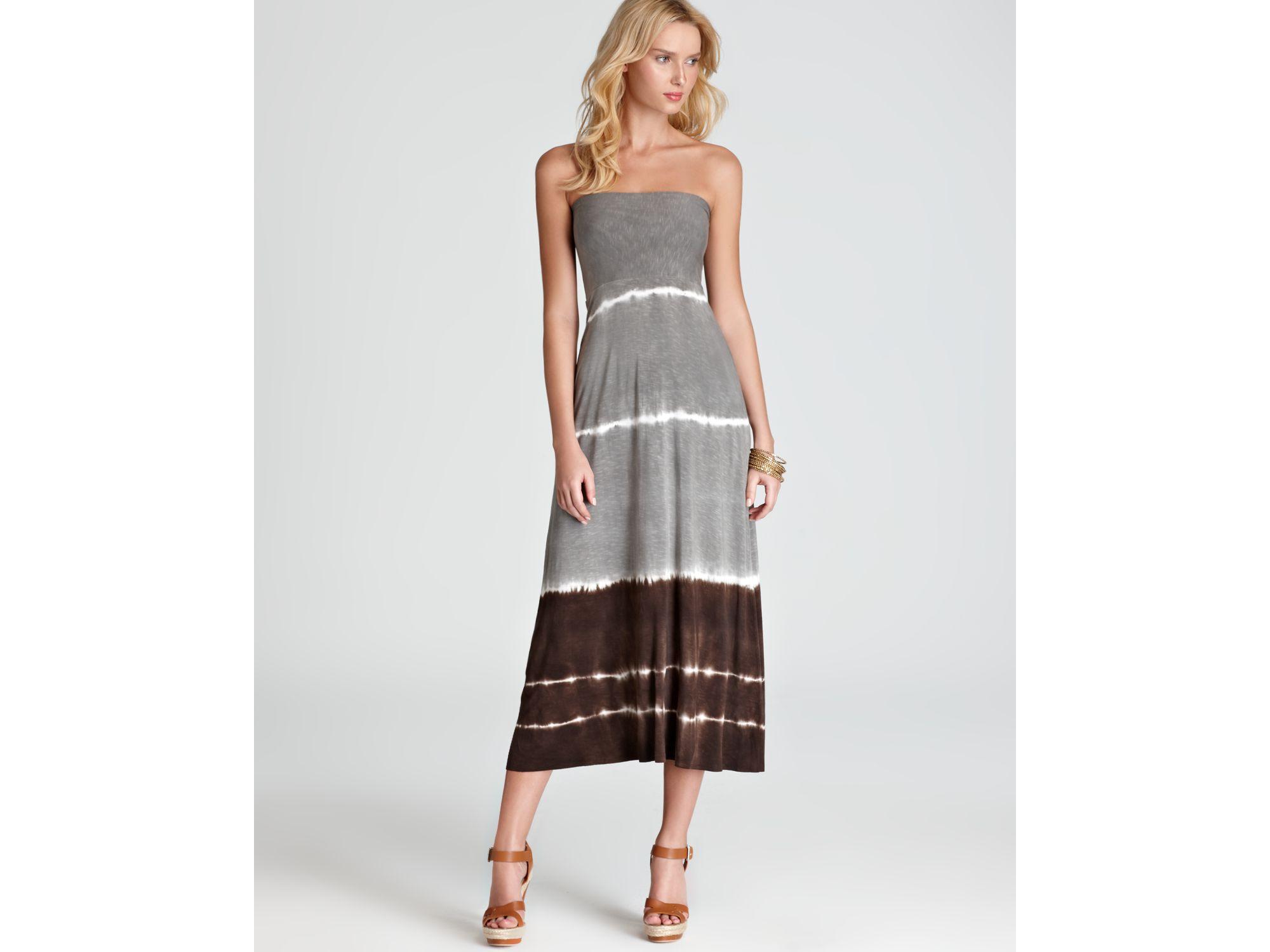Convertible maxi tube dress
