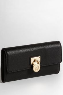 Michael by Michael Kors Hamilton Flap Leather Wallet - Lyst