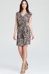 Rachel Zoe Silk Dress Hannah Printed - Lyst