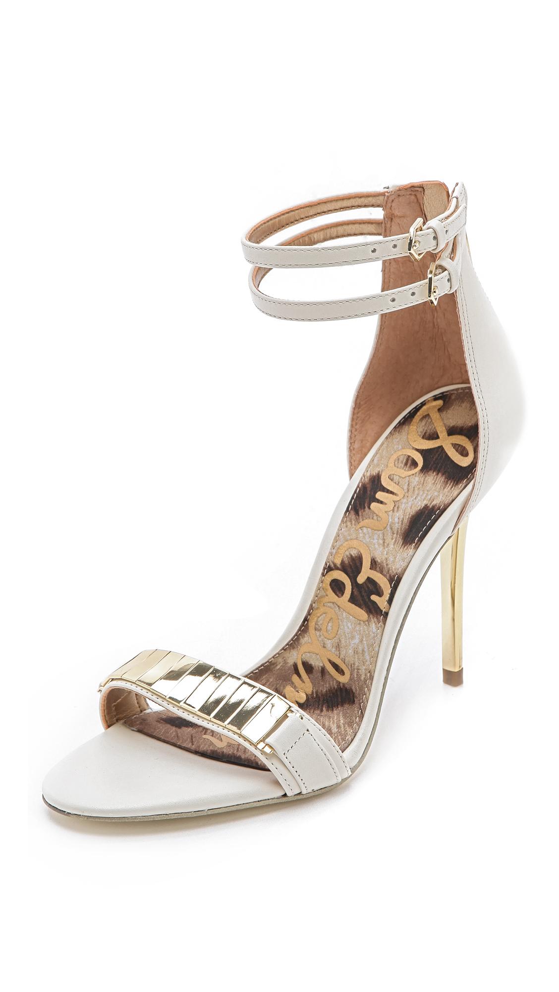 98ebe9b7c80c Sam Edelman Ankle Sandals.Lyst Sam Edelman Allie High Heel Sandals ...