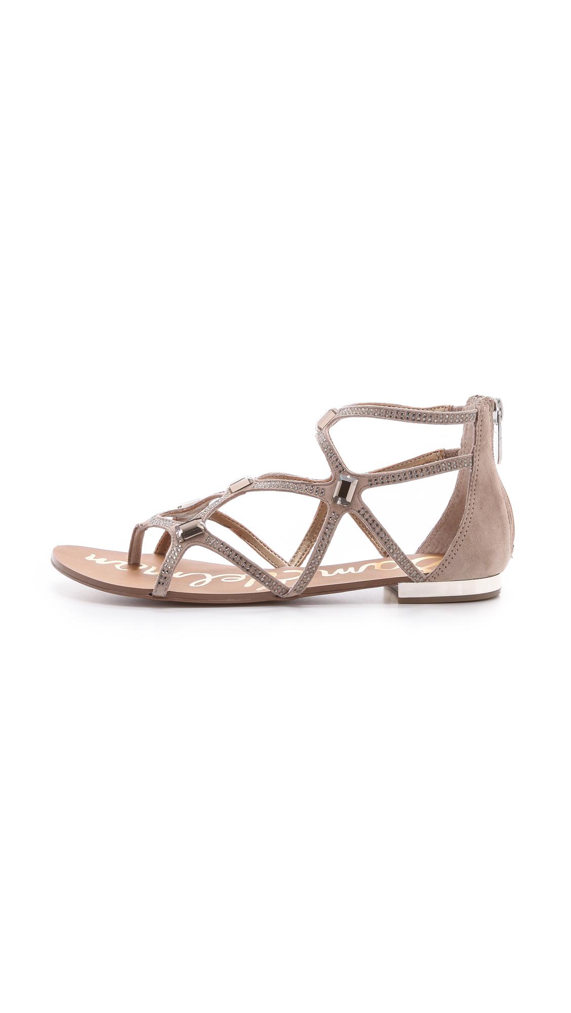 60d24e26aa6294 Lyst - Sam Edelman Tamara Strappy Sandals in Natural