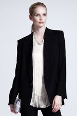 Stella McCartney Onebutton Boyfriend Blazer - Lyst