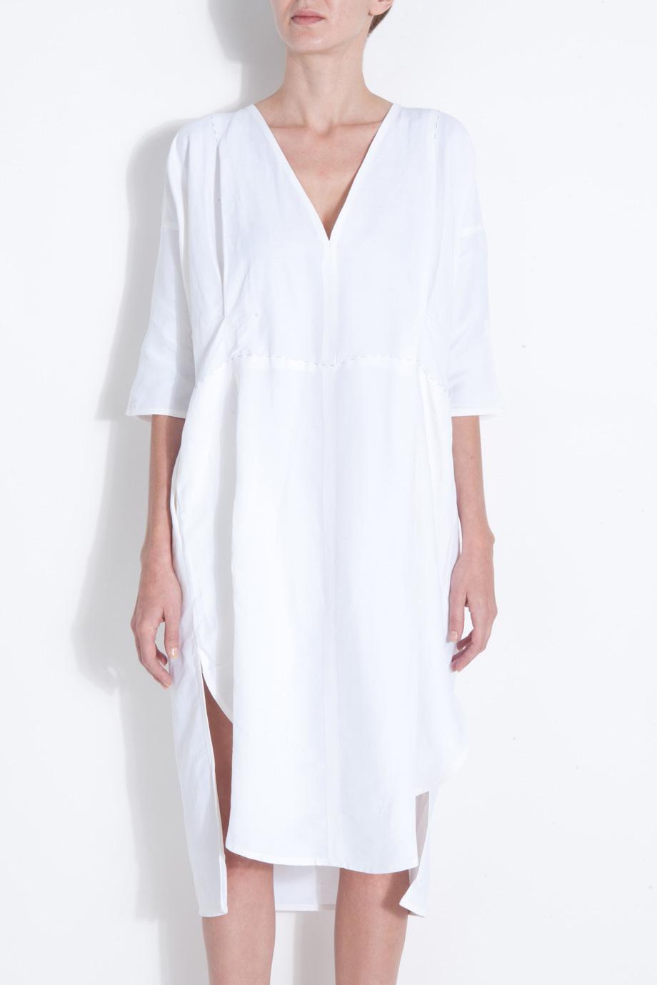 Lyst Acne Studios Linen Dress In White