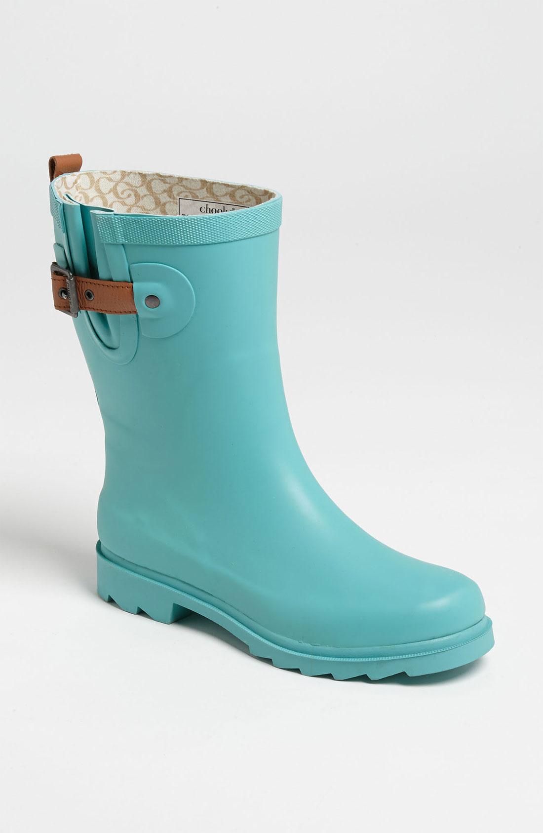 Perfect Women39s Beige Housecheck Rubber Rain Boots  Overstock Shopping  Top
