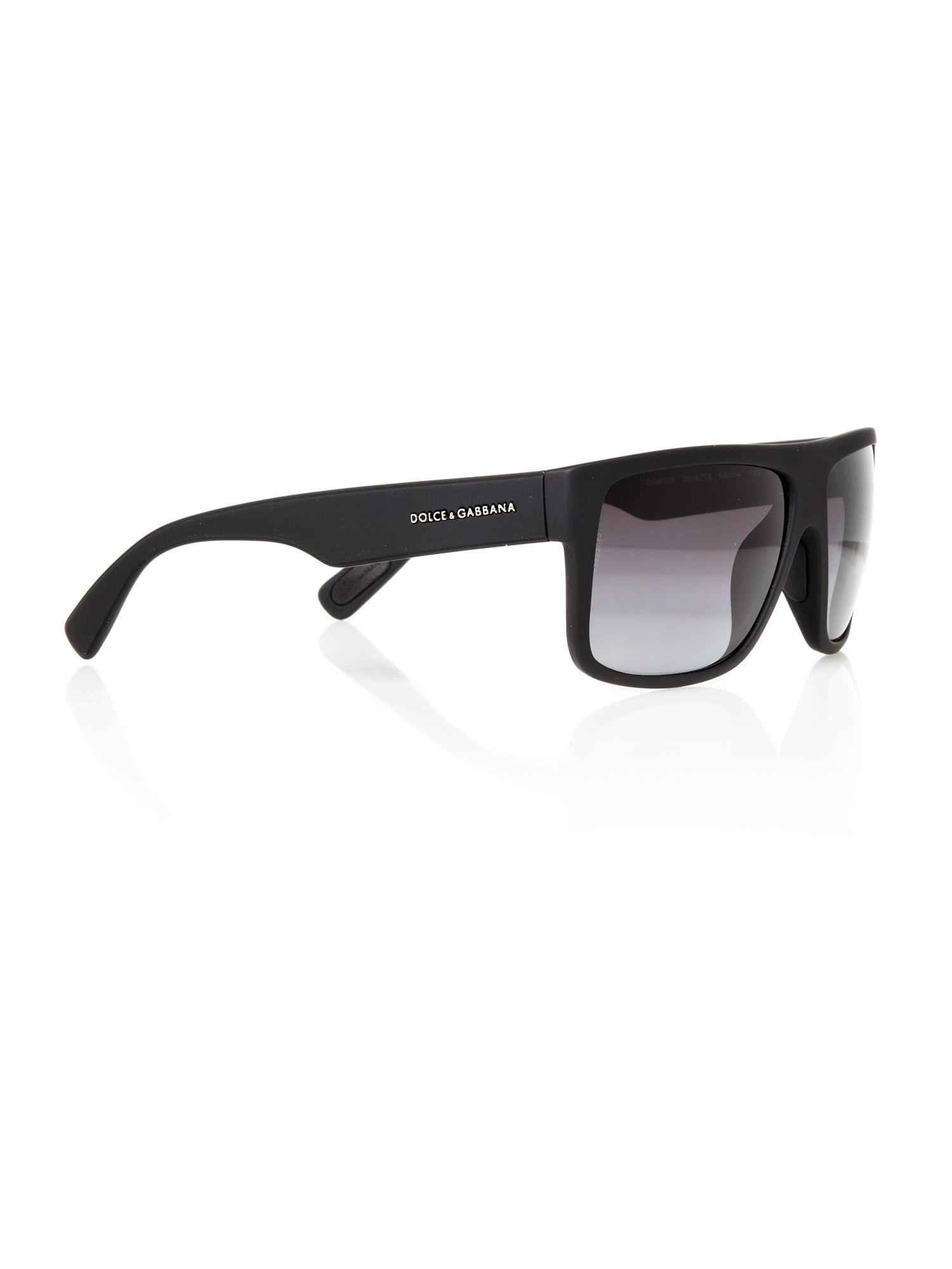 59f9e616059 Dolce   Gabbana Mens Gym Black Sunglasses in Black for Men - Lyst