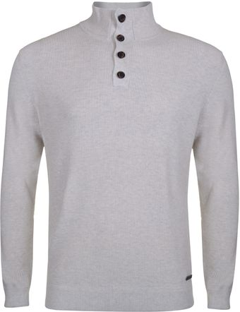 Henri Lloyd Chine Regular Half Button Knit - Lyst