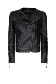 Mango Padded Panels Perfecto Jacket - Lyst