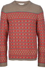 Marc Jacobs Patterned Pullover - Lyst