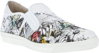 McQ by Alexander McQueen Mid Cut Slip On - Lyst