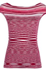 Missoni Striped Top - Lyst