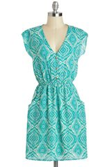 ModCloth Urban Oasis Dress - Lyst