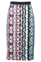 Peter Pilotto Printed Cleo Skirt - Lyst