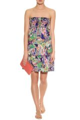 Ralph Lauren Swim Smock Dress in Multicolor (black) - Lyst