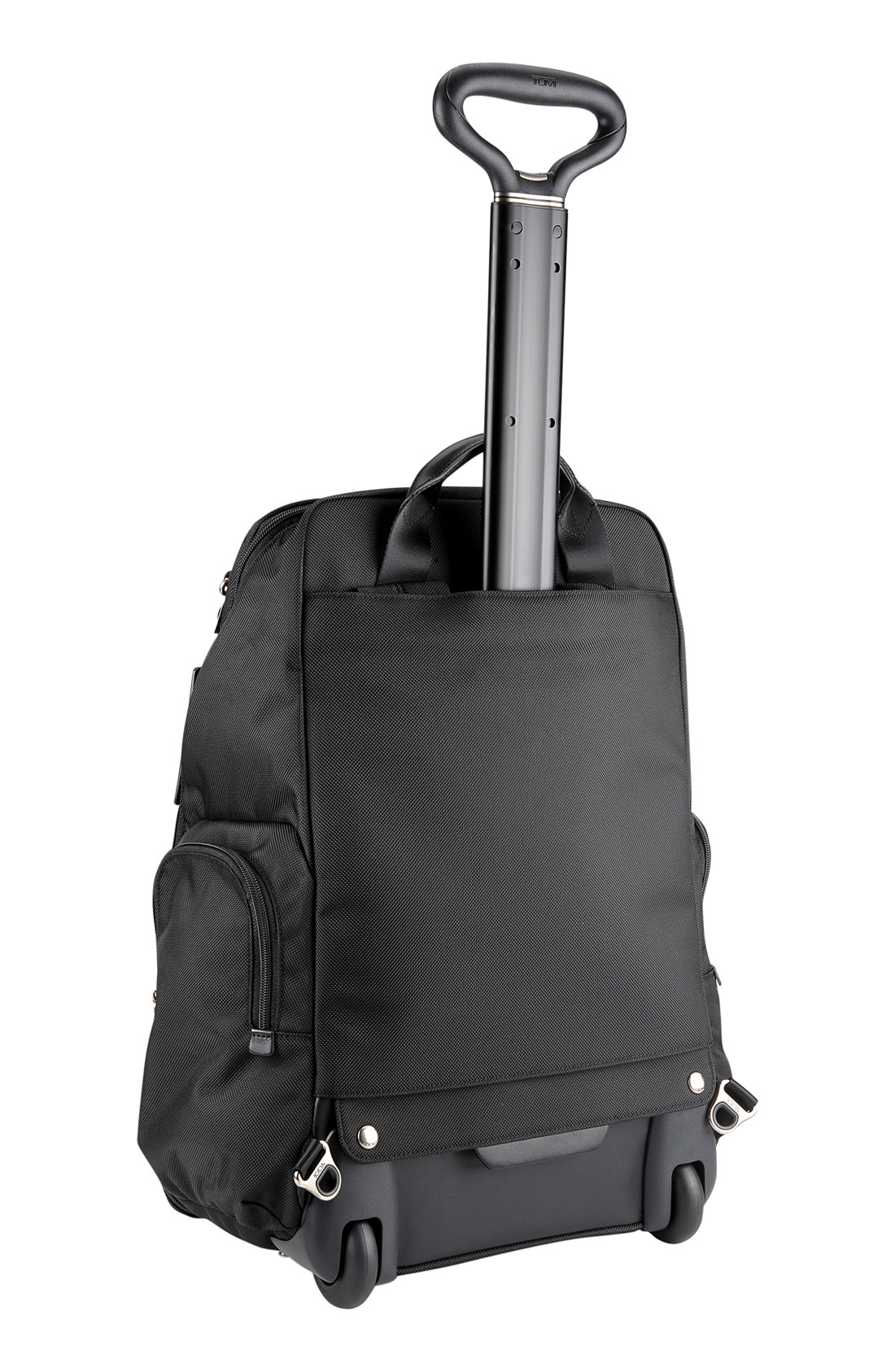 A sleek contemporary print brings a stylish look to this business-ready backpack from Tumi. The bag features space for a laptop and tablet, along with an array of other pockets and organizers inside and out.