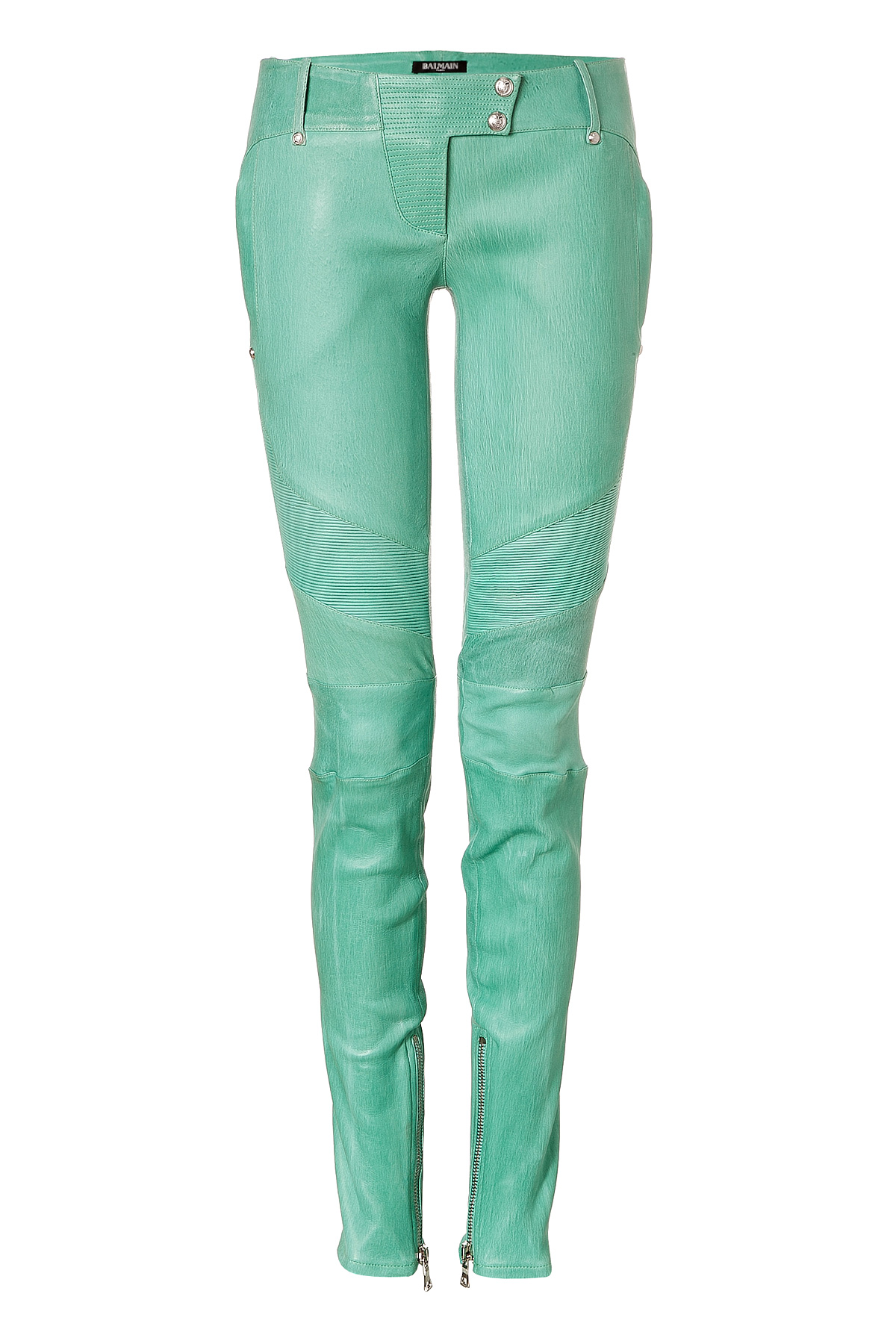 rag & bone/JEAN Skinny Leather Ankle Pants, Black Details rag & bone/JEAN washed lamb leather pants. Approx. measurements: 30