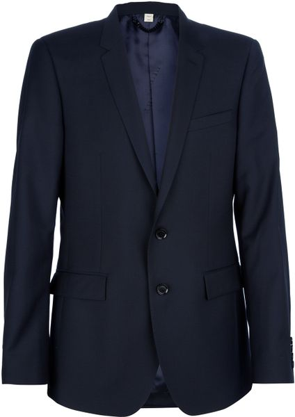 Burberry Classic Suit in Blue for Men (navy) - Lyst