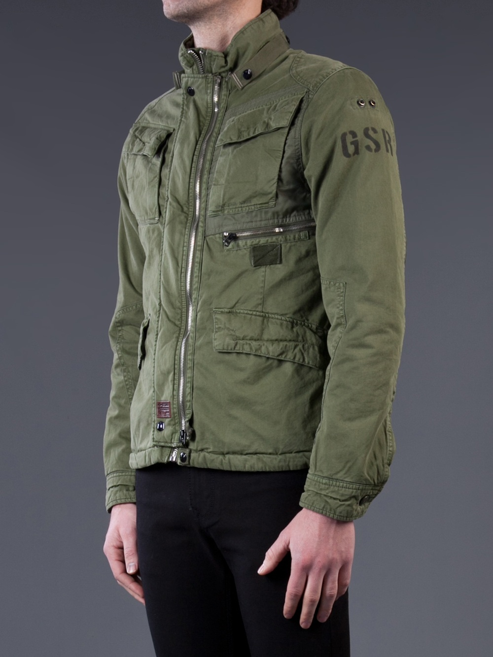 G Star Raw Aero Field Jacket In Green For Men Lyst