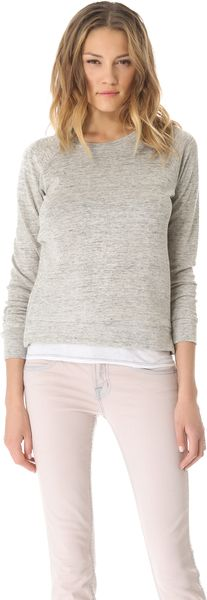 J Brand Ready-to-wear Minnie Sweatshirt - Lyst