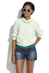 Madewell Denim Cut-Off Shorts - Lyst