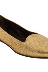 Rochas Foiled Metallic Slipon