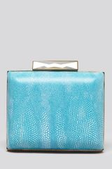 Sondra Roberts Clutch Stingray Embossed Box - Lyst