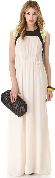 By Malene Birger Lanamil Beaded Gown - Lyst