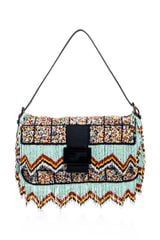 Fendi Tassel Beaded Baguette Bag - Lyst