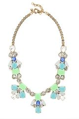 J.Crew Bright Stone Necklace - Lyst