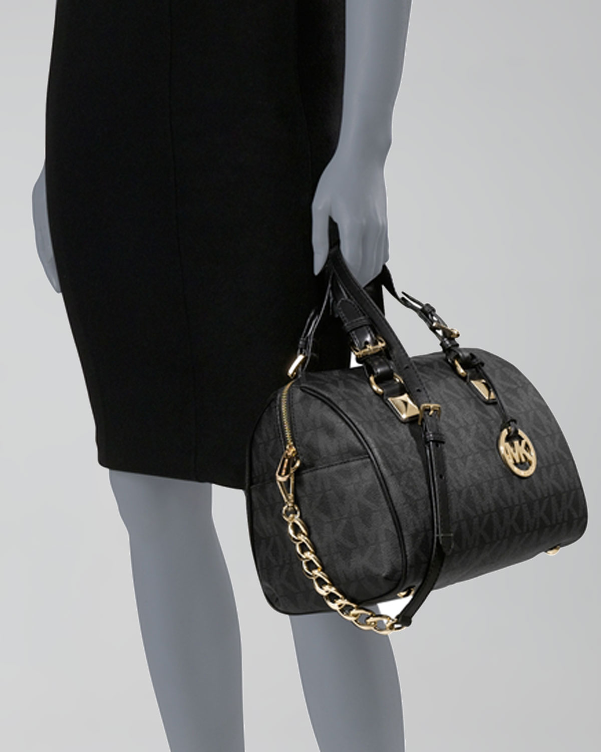 2a19e04c581f92 ... large converstible signature satchel brown 0aefe 47406; sweden gallery.  previously sold at neiman marcus womens michael kors grayson 5051a 0ae1a