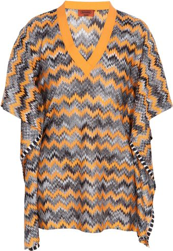 Missoni Short Kaftan - Lyst