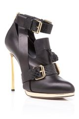 Prabal Gurung Black High Heel Oxford