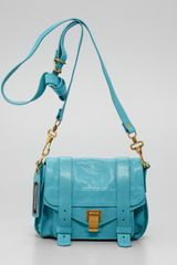 Proenza Schouler Ps1 Shoulder Pouch Bag Lagoon - Lyst