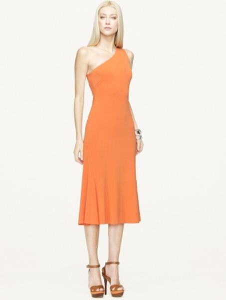 Ralph Lauren Black Label Matte Jersey Frederica Dress In