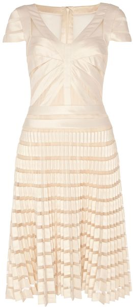 Temperley London Ribbon Tulle Vneck Dress - Lyst