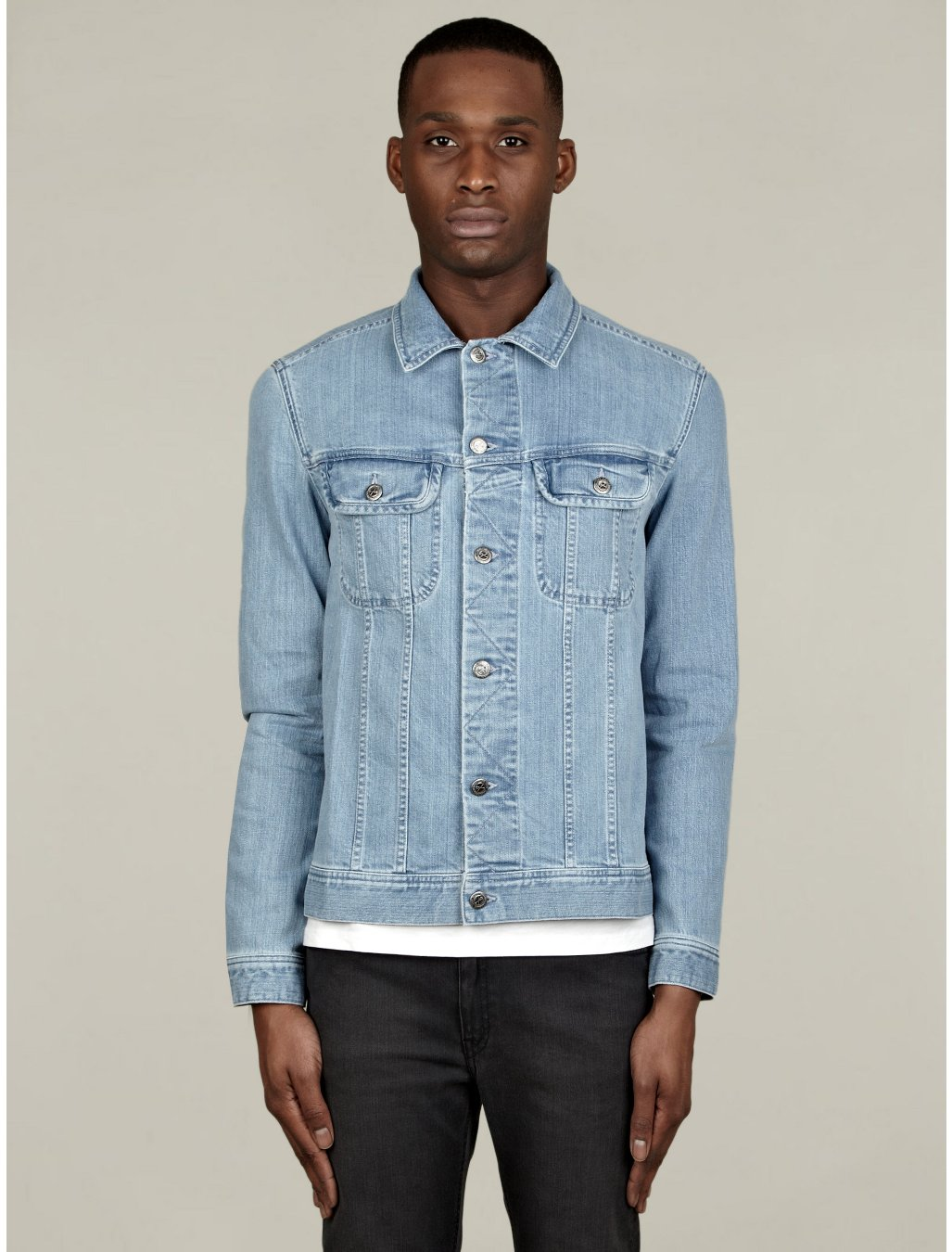 Shop for LIGHT BLUE L Men Leisure Chaqueta Washed Denim Jacket online at $ and discover fashion at hamlergoodchain.ga