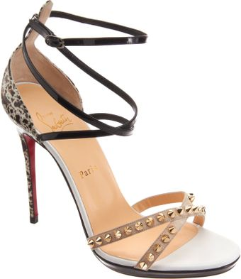 Christian Louboutin Strappy Sandals - Lyst