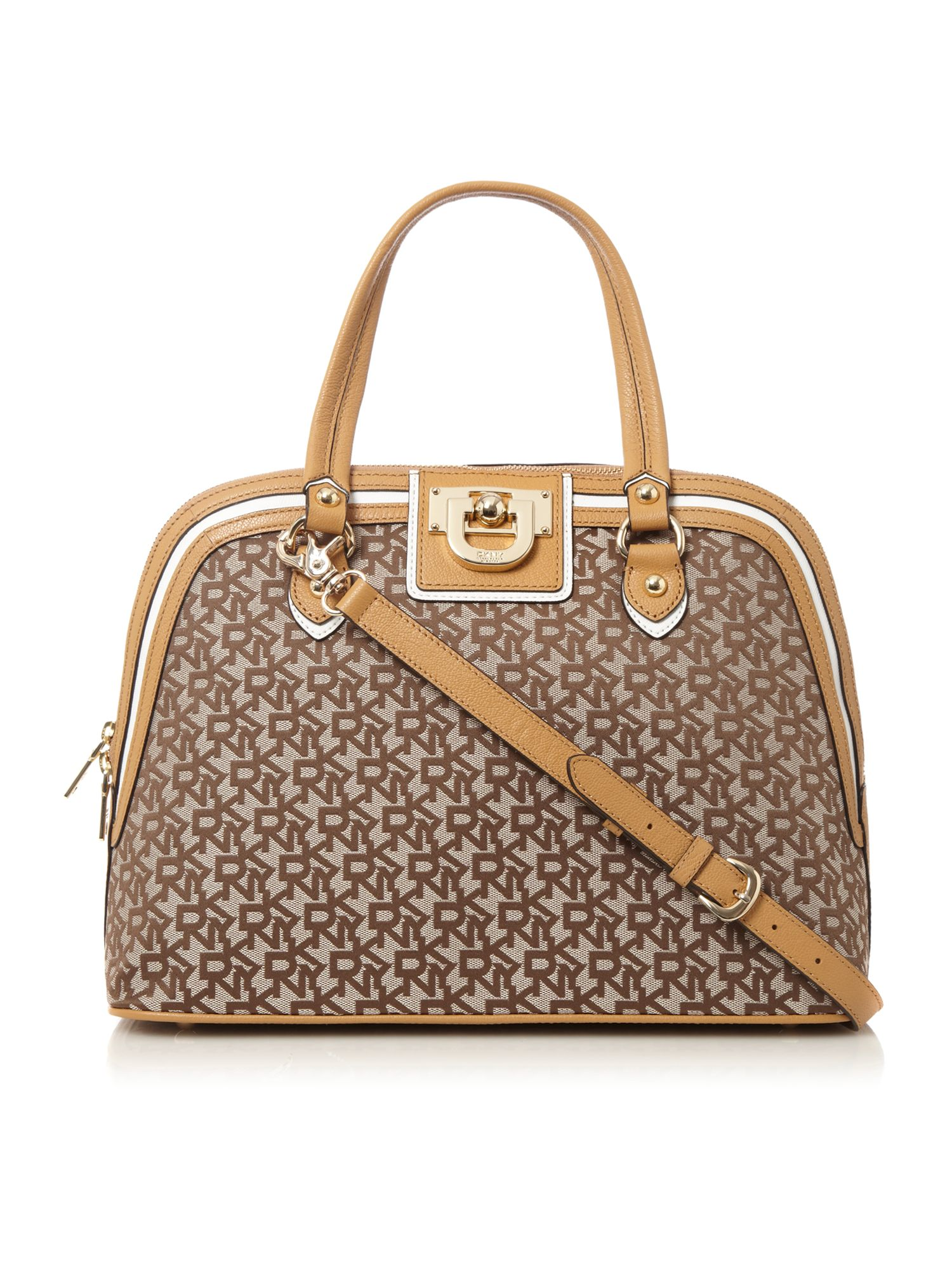 Dkny Medium Dome Bag in Brown | Lyst
