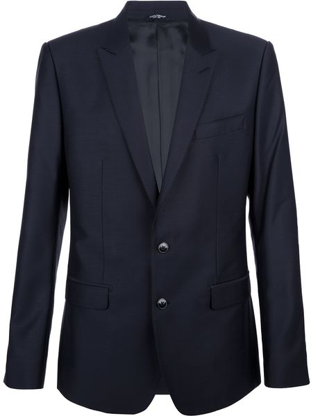 Dolce & Gabbana Martini Suit in Blue for Men (navy) - Lyst