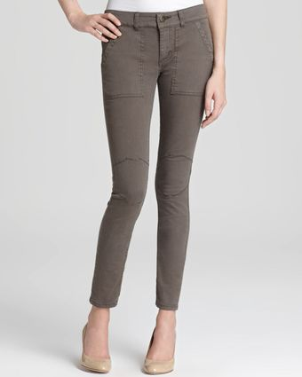 Free People Pants Military Twill Utility - Lyst